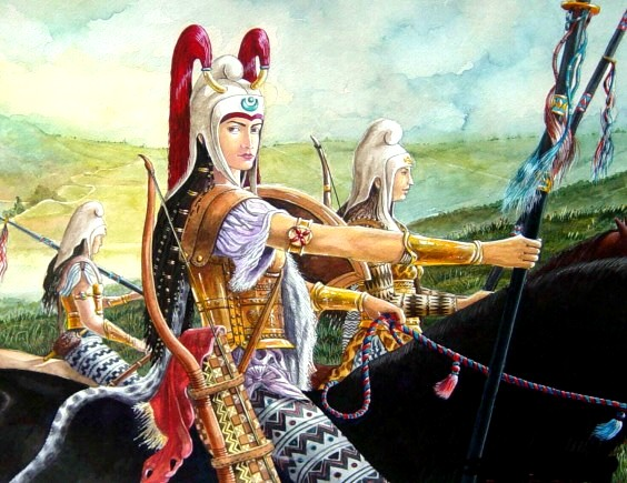An Achaemenid Unit of Persian Female Warriors 1000 Years Before the Invasion